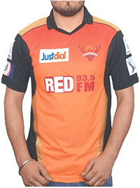 Sunrisers Hyderabad jersey