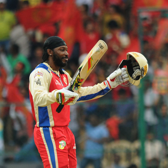 chris gayle ipl record